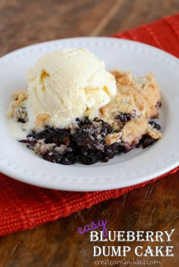 Blueberry Dump Cake With Crushged Pineapple Recipe