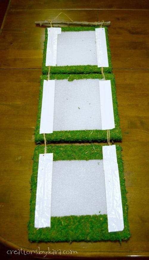 Outdoor Decor- Moss Art