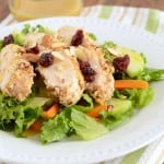 Flashback Friday Recipe: Pecan Crusted Chicken Salad