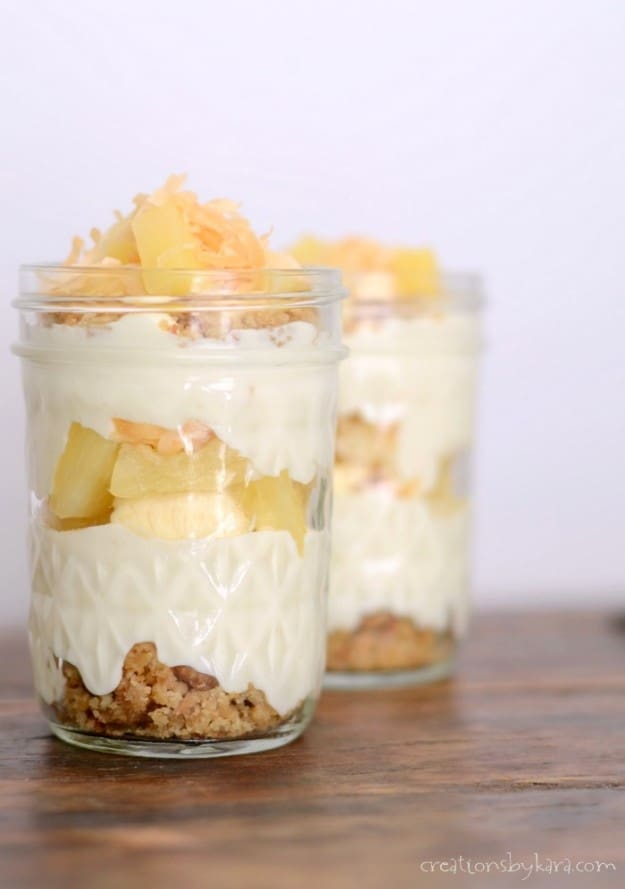 Recipe for pina colada trifle