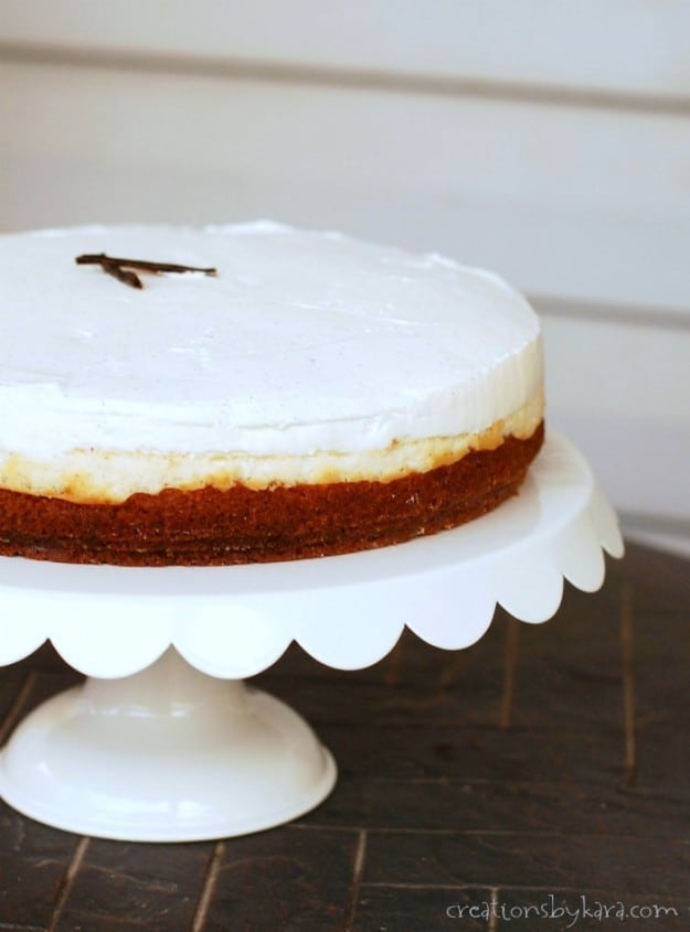 This recipe for Vanilla Bean Cheesecake will blow you away!