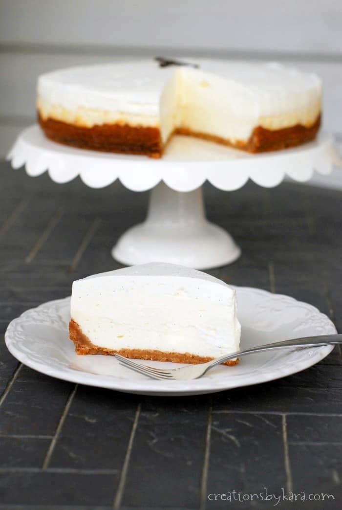 Vanilla Bean Cheesecake Recipe