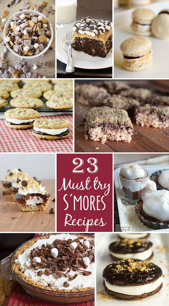 23 of the best Smore recipes ever!