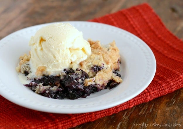 Buleberry Dump Cake Recipe