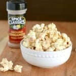 Cinnamon Glazed Popcorn is perfect for an after school snack, or movie night!