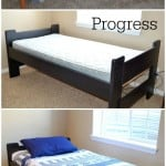 DIY Twin Bed Makeover