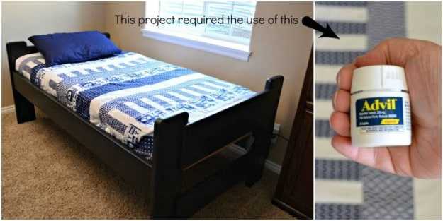 Stressful DIY bed makeover
