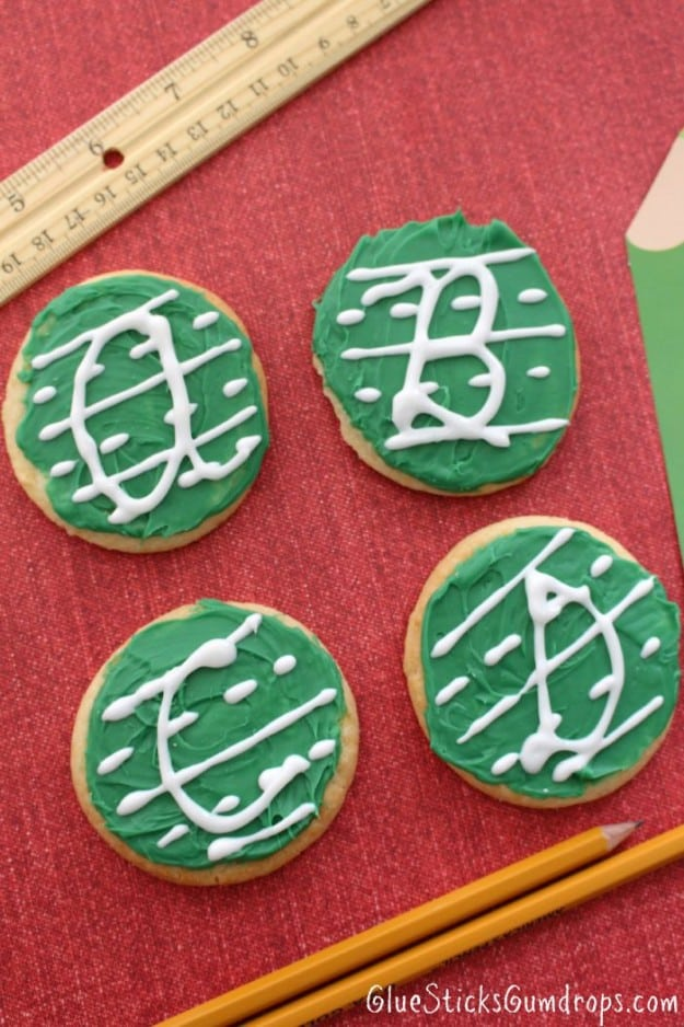 Back to school cookies- link party feature