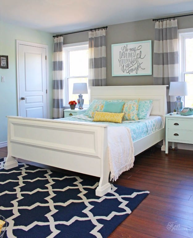 Bedroom makeover- Thursday Link Party feature