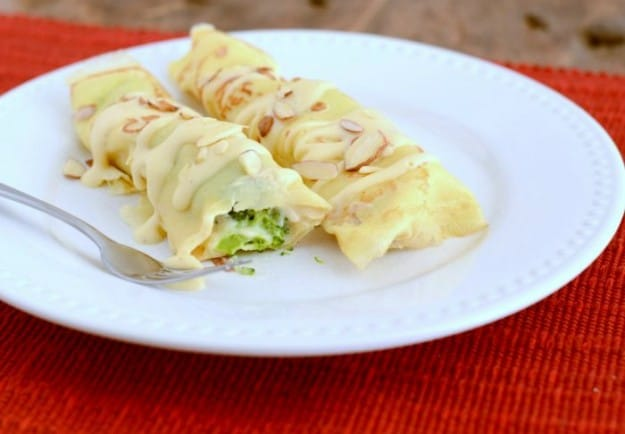 How to make Chicken Broccoli Crepes