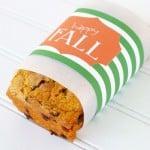 Fall Bread Wrapper