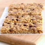 Recipe for Peanut Butter Chocolate Chip Granola Bars- the best!
