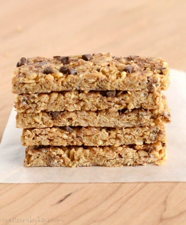 These homemade granola bars are the best I have ever had!