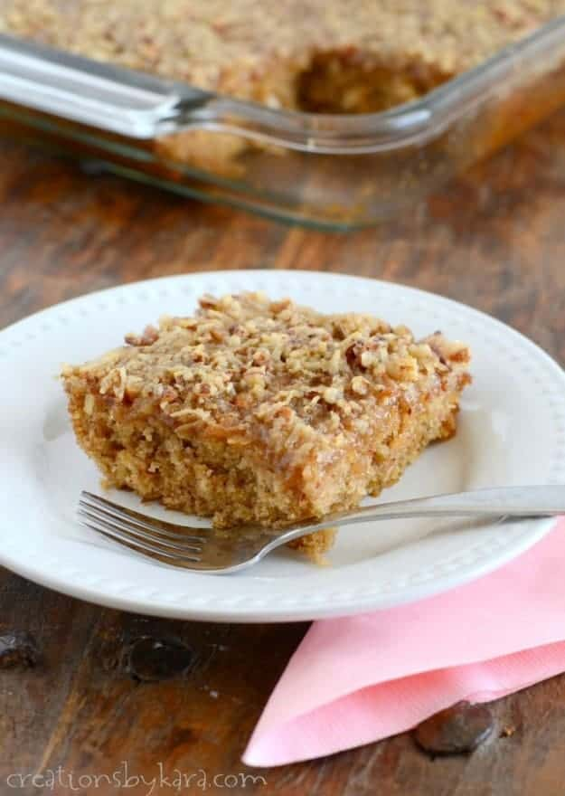 Recipe for old fashioned Oatmeal Cake with Broiled Icing. A family favorite for decades!