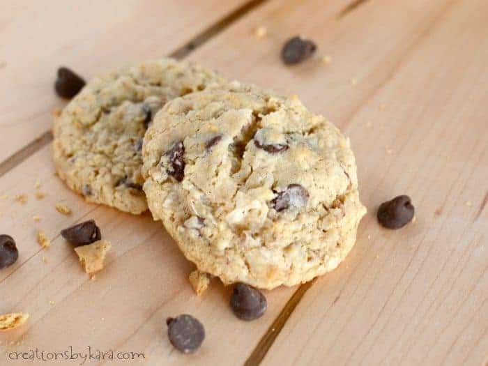 Seven Layer Cookies (like the bars)