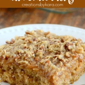 old fashioned oatmeal cake recipe pinterest pin