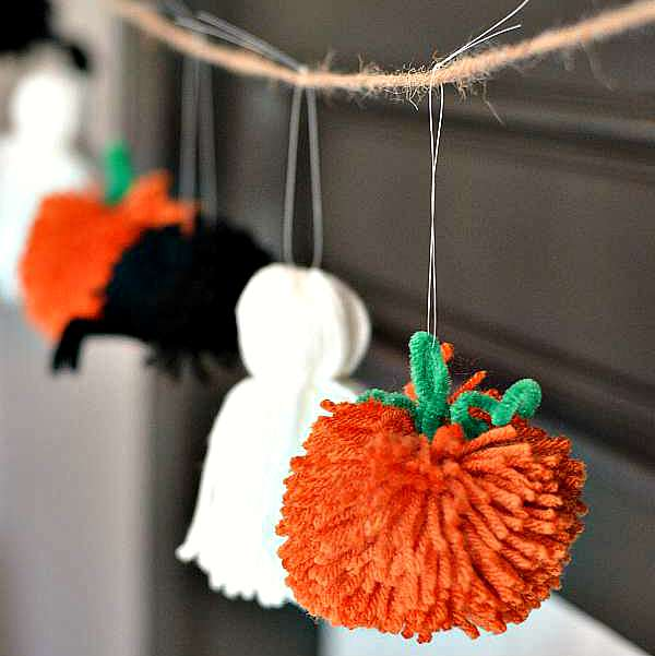 Linky party feature- Halloween craft