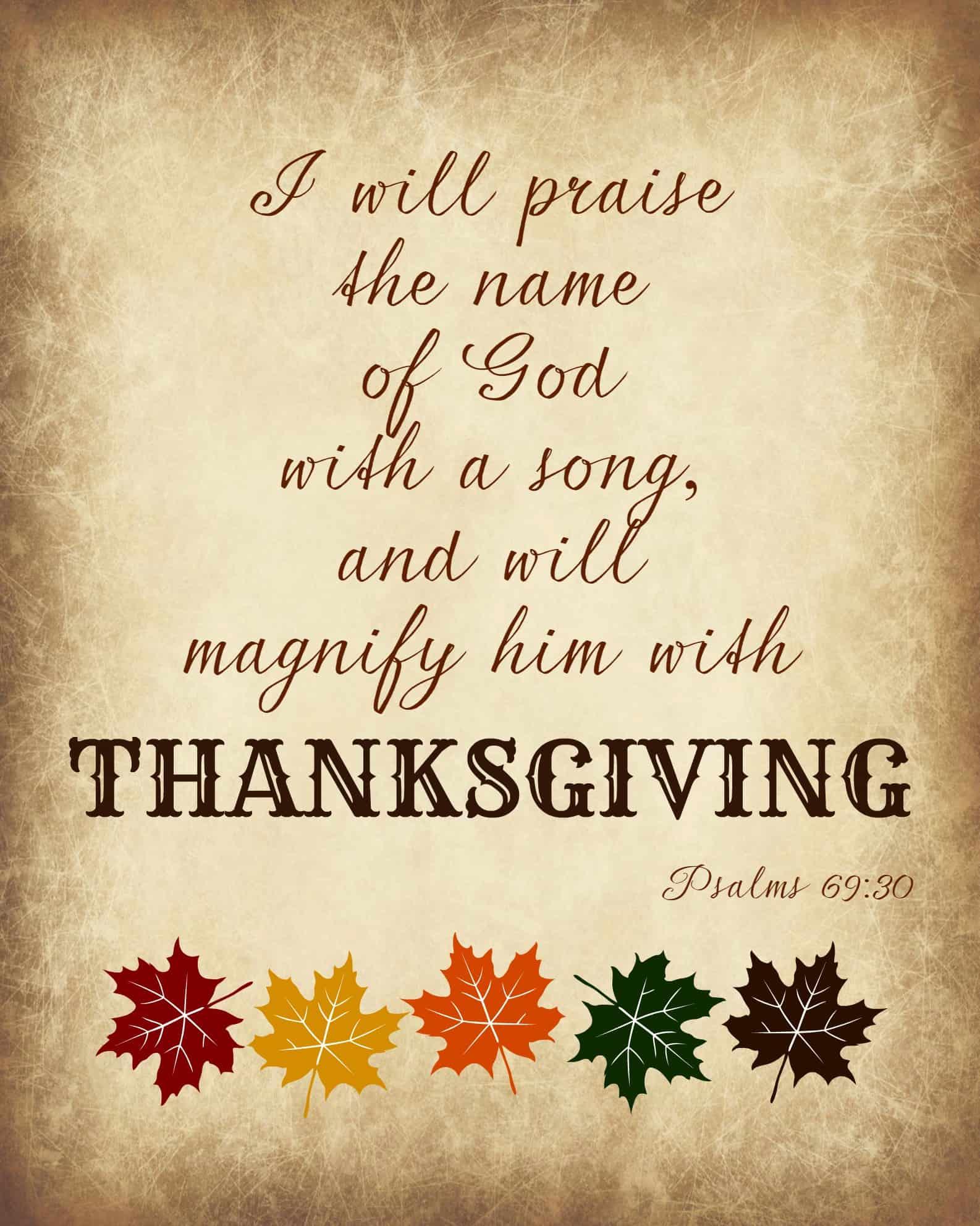 Ponderize- thanksgiving
