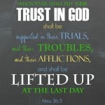 Free printable- Trust in God #ponderize