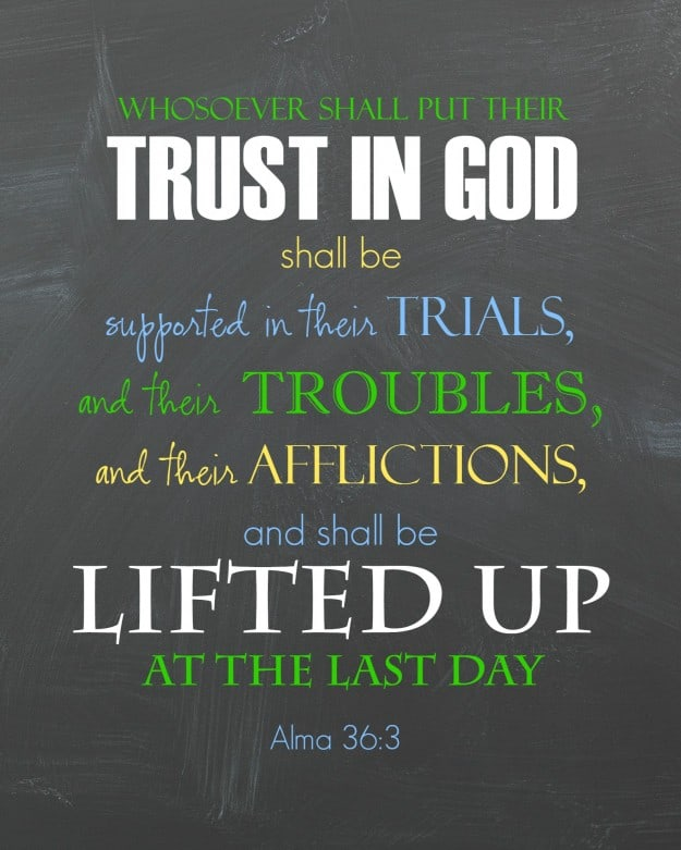 trust in god printable