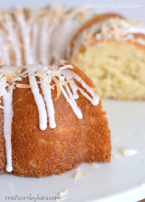Made from scratch, this coconut cake is moist, and loaded with coconut flavor!