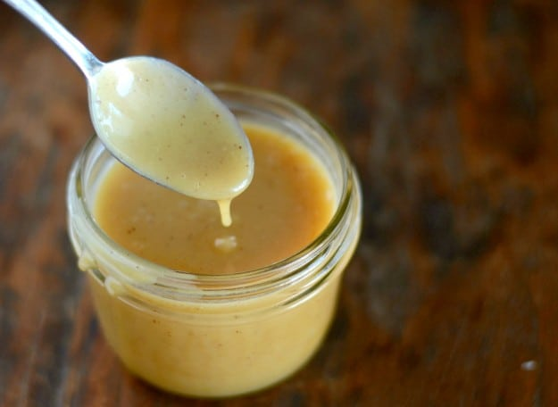 This rich and creamy caramel eggnog sauce is delicious over pound cake or ice cream. Or you can just eat it by the spoonful!