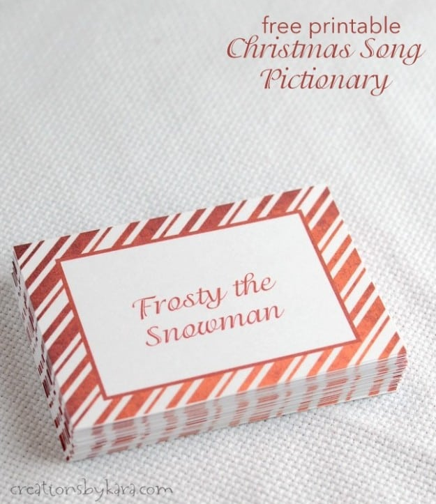 photo about Guess the Christmas Song Printable referred to as Xmas Music Pictionary- totally free Xmas video game