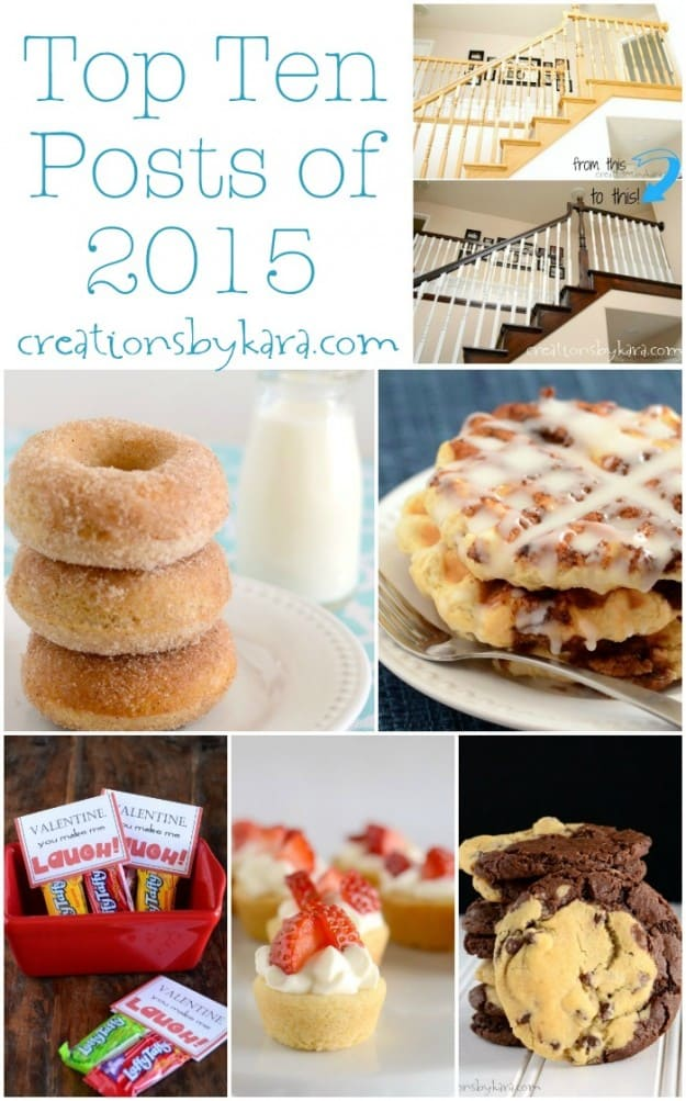 Most popular projects and recipes from creationsbykara.com