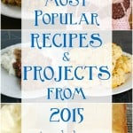 Most Clicked Projects and Recipes from 2015