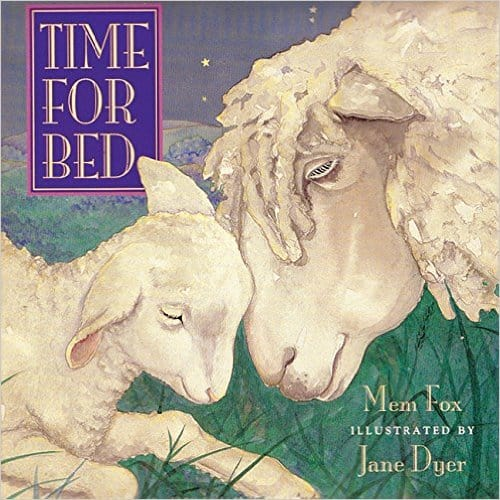 Time for Bed preschool book