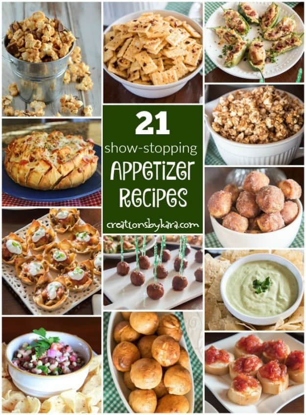 21 Mouthwatering Appetizer Recipes that are perfect for game day!