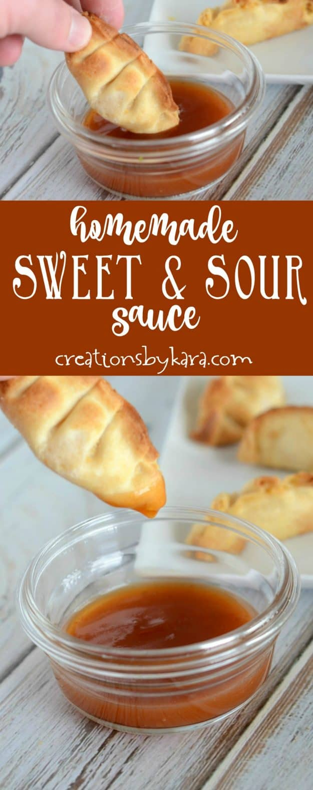 Homemade sweet and sour sauce - perfect for dipping chicken or wontons. Or use with meatballs. A great tangy sauce recipe.
