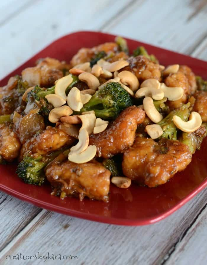 Sesame Chicken from PF Changs Home Menu- a quick and delicious meal!