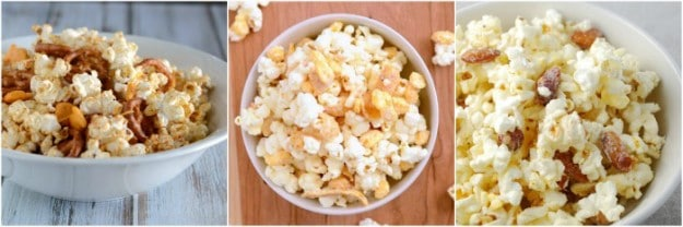 Yummy recipes for popcorn