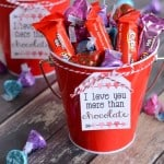 Valentine's Gift Baskets with Hershey's Chocolate