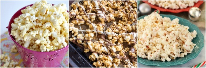 peanut butter popcorn and more popcorn recipes