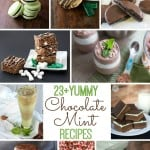 23 of the very best Chocolate Mint Recipes ever!
