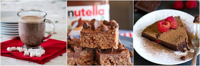 Nutella Cheesecake Bars and 23 other recipes with Nutella