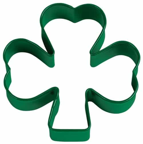 St Patricks Day baking supplies- Shamrock Cookie Cutter