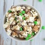 Smores Snack Mix for St. Patricks Day