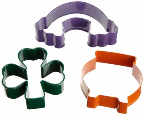 cookie cutters for St. Patricks Day baking