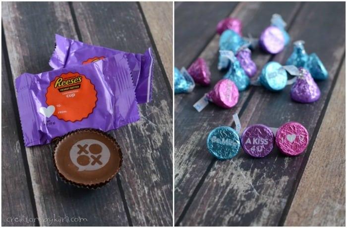 Valentine Treasure Hunt with Hershey's chocolate