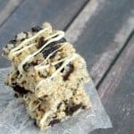 Best ever Oreo Rice Krispie Treats