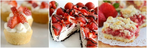 Recipes for National Strawberry Month
