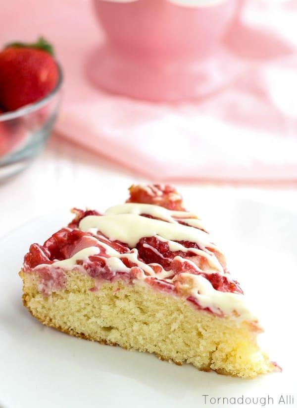 Brunch recipe- strawberry cake