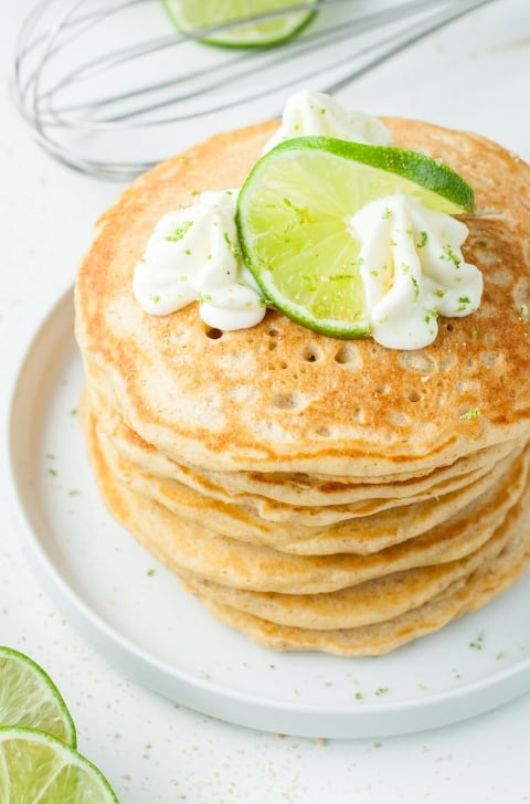 key lime pie pancakes for brunch