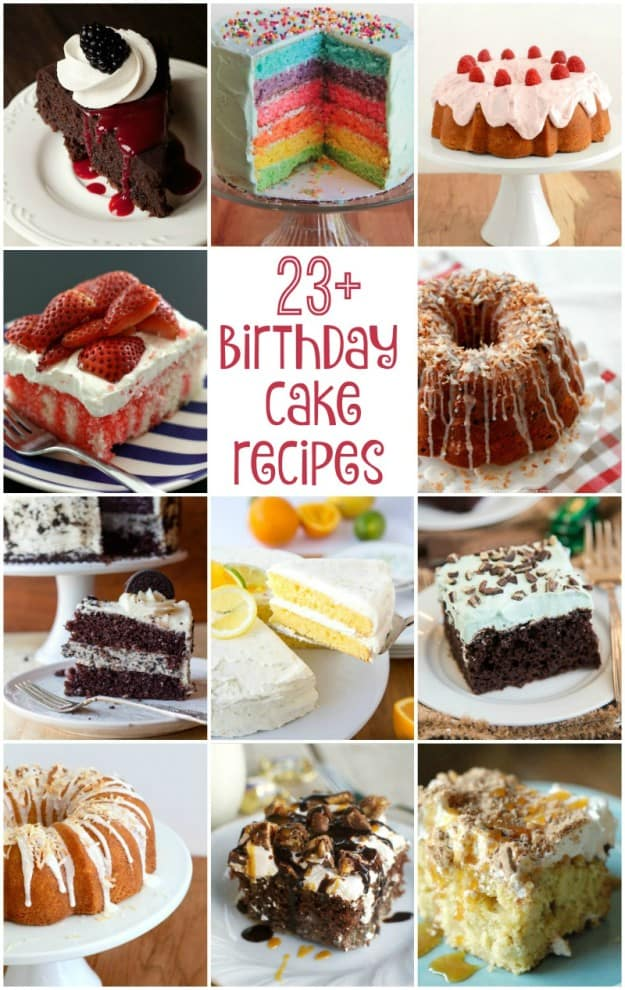 Amazing 23 Birthday Cake Recipes Worth Celebrating A Cash Giveaway Personalised Birthday Cards Sponlily Jamesorg