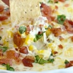 Cheesy Corn Dip {Sun and Sizzle Cookbook Review}