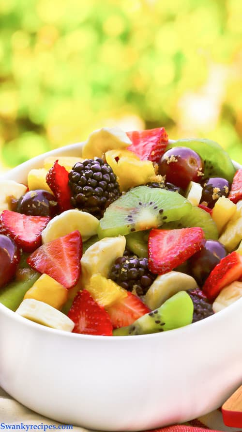 fruit salad for Mother's Day brunch