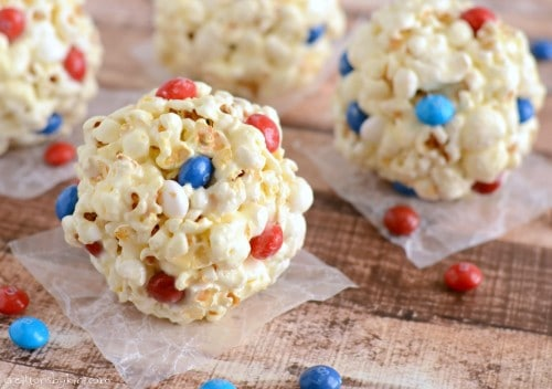 These Marshmallow Popcorn Balls have been a favorite since childhood. They are ooey, gooey, delicious, and can't be beat!
